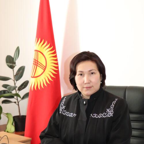 Омуралиева Анара Медербековна
