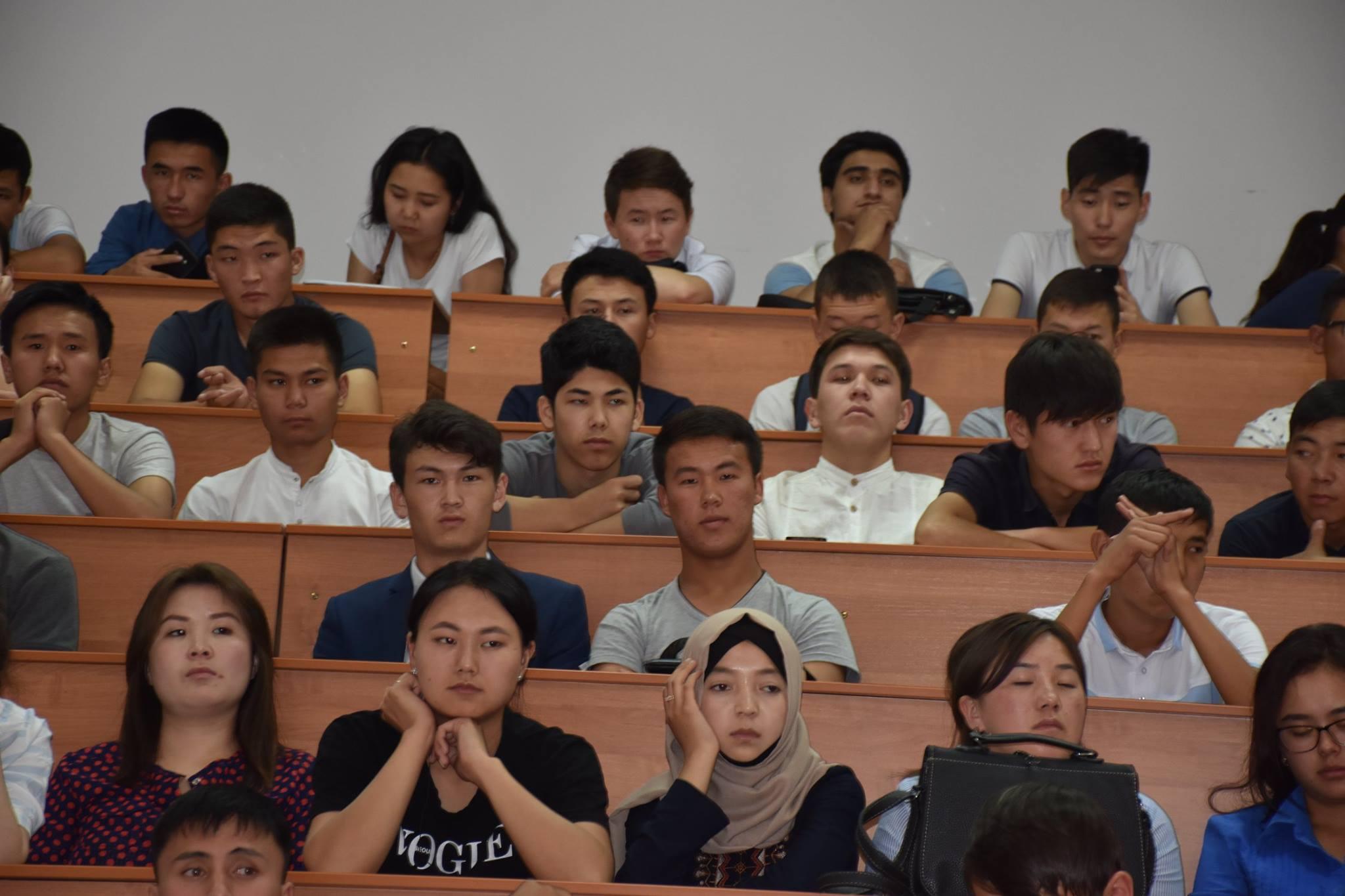 Коллектив Кыргызской Ассоциации женщин-судей