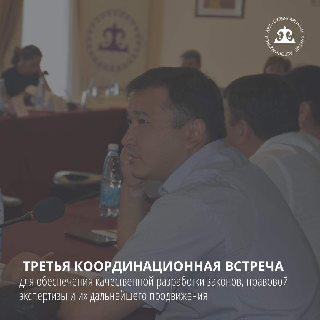 Третья встреча координационного органа